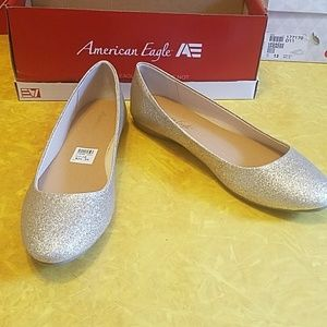 American eagle payless size 10 ballet flat womens